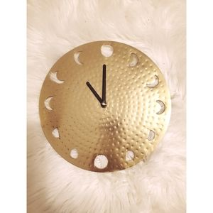 ⚡Urban Outfitters Home⚡Golden Clock⚡